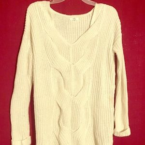 Maurices ivory sweater